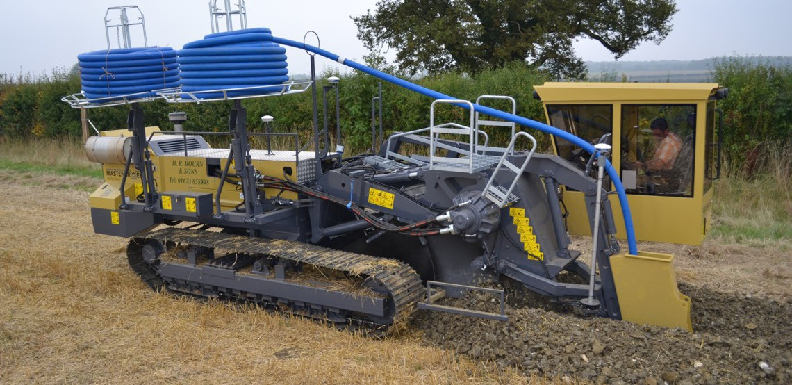 Trenching Machines Working : Mastenbroek limited