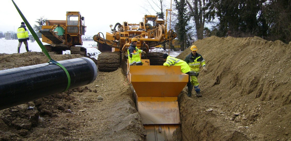Utility trenching mastenbroek limited for Utility of soil